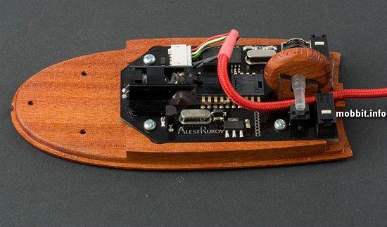Дизайнерские деревянные мышки от AlestRukov