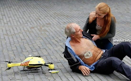 «Дрон скорой помощи»