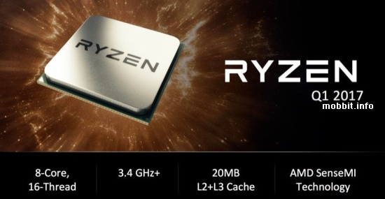AMD Summit Ridge Ryzen CPU