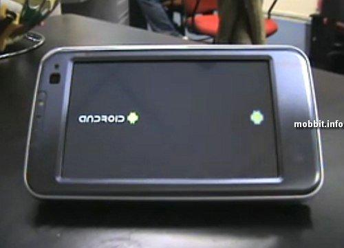AAndroid 1.0 на Nokia N810