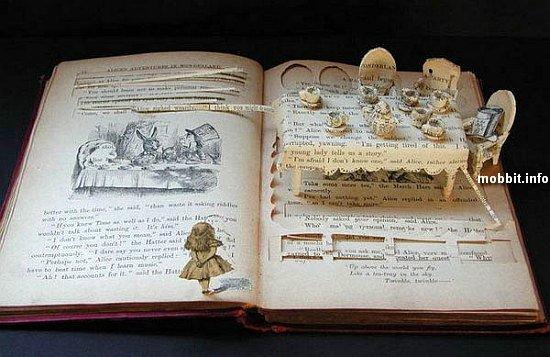 композиции из книг