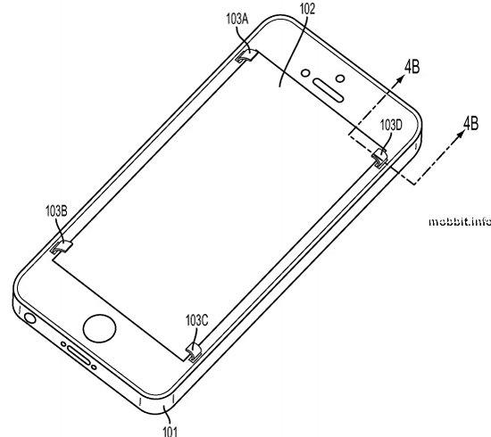 Apple защитит экраны смартфонов выдвижными лапками