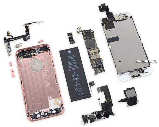 4-дюймовый iPhone SE iFixit