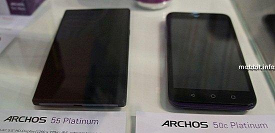 Archos 50c Platinum и 55 Platinum