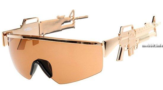 Солнцезащитные очки от Linda Farrow и Jeremy Scott