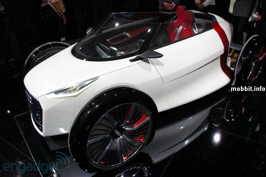 Концепт маленького городского электромобиля от Audi