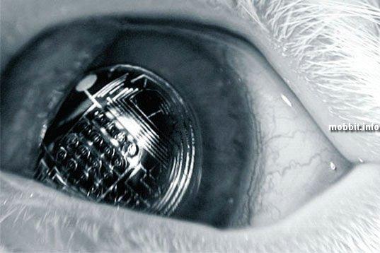 1. Контактные линзы будущего: позволят видеть виртуальную реальность.
