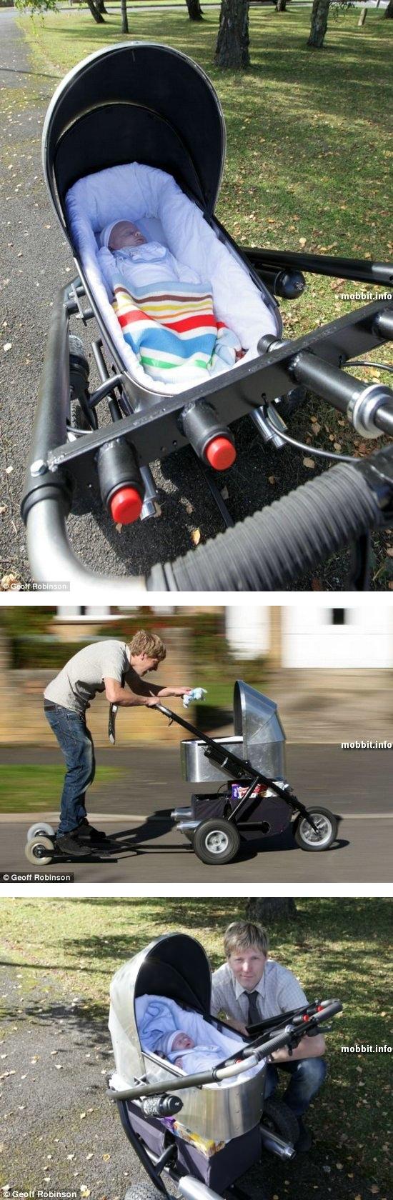 Самая быстрая в мире детская коляска