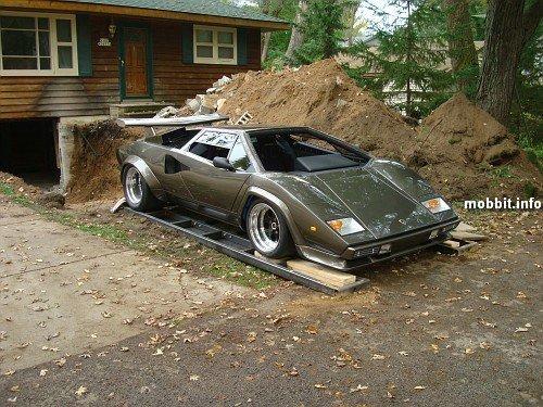 Самодельный Lamborghini Countach
