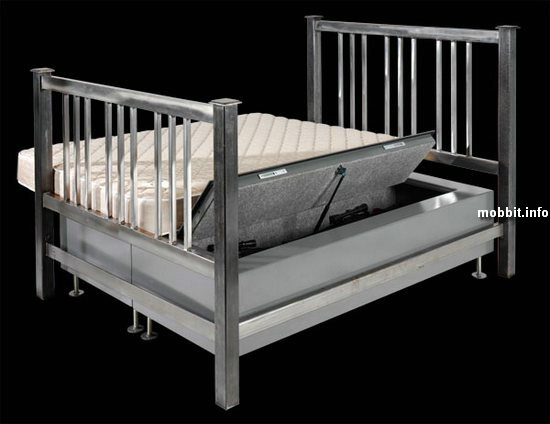 Кровать со встроенным сейфом