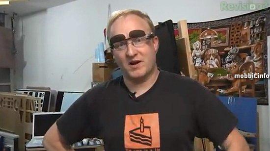 Автоматические солнцезащитные очки от Бена Хека