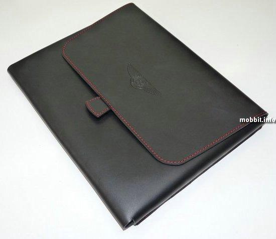 Эксклюзивные кожаные чехлы для телефонов и iPad'а от Bentley