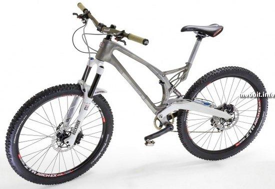 Первый в мире титановый велосипед, созданный методом 3D-печати
