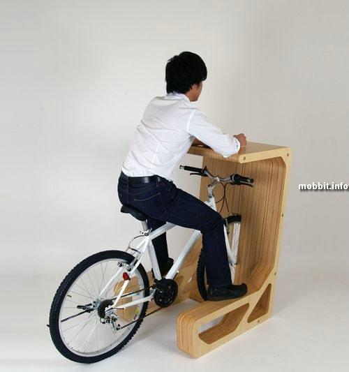 Столы-парковки для велосипедов