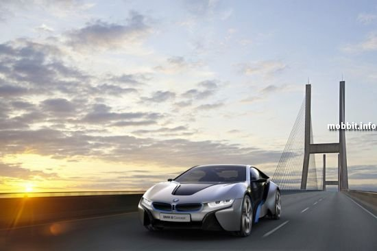 Новые концепткары BMW i3 и BMW i8