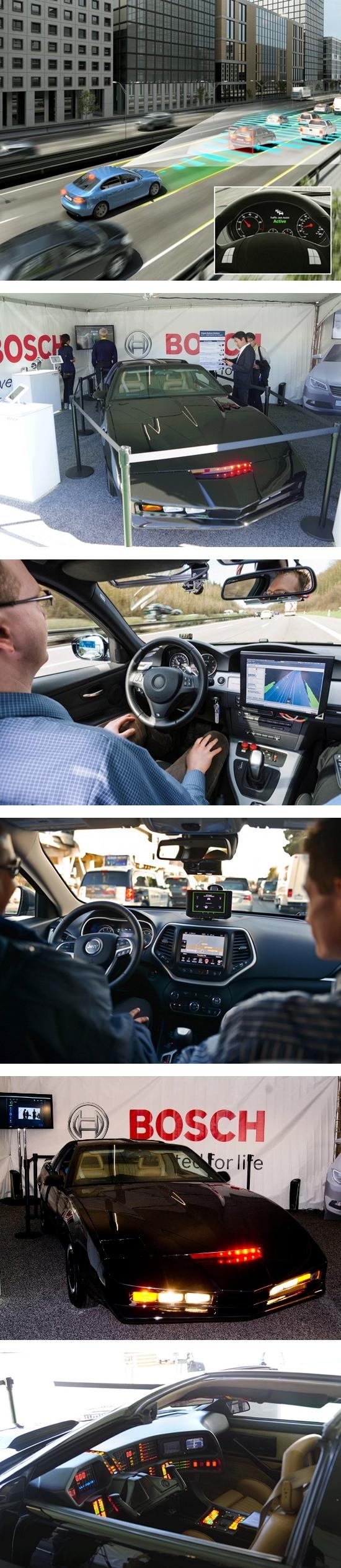 Автомобиль с автопилотом от Bosch