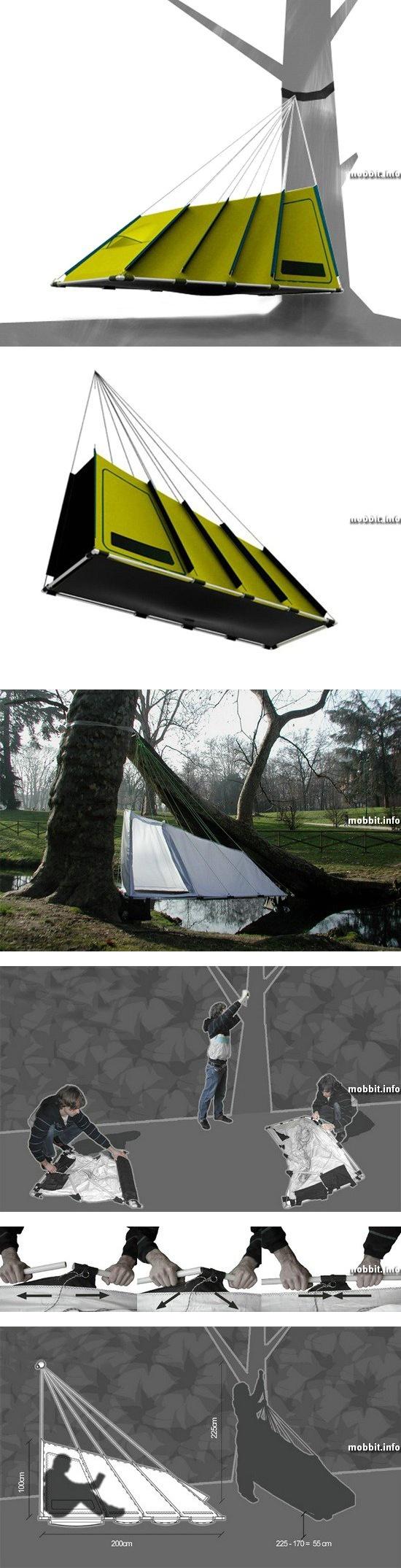 Branch Tent