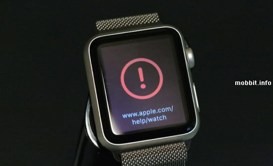 Bricked Apple Watch