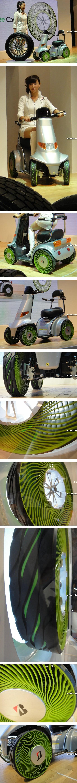 Безвоздушные шины Bridgestone