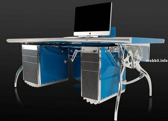 Компьютерный стол в стиле Bugatti Grand Prix