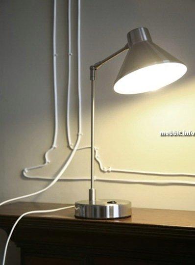 Способ организации проводов
