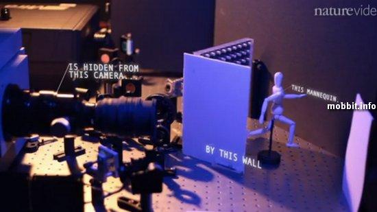 Концептуальная камера, которая может снять то, что находится за углом