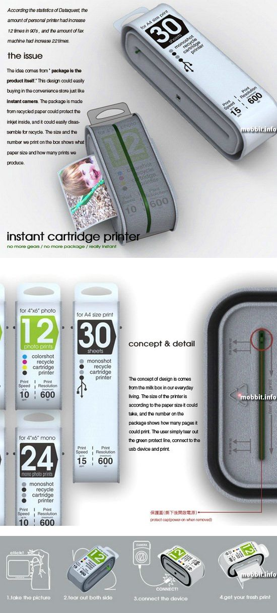 Instant Cartridge Printer
