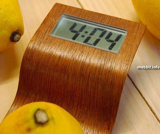 Часы, работающие на лимонном соке