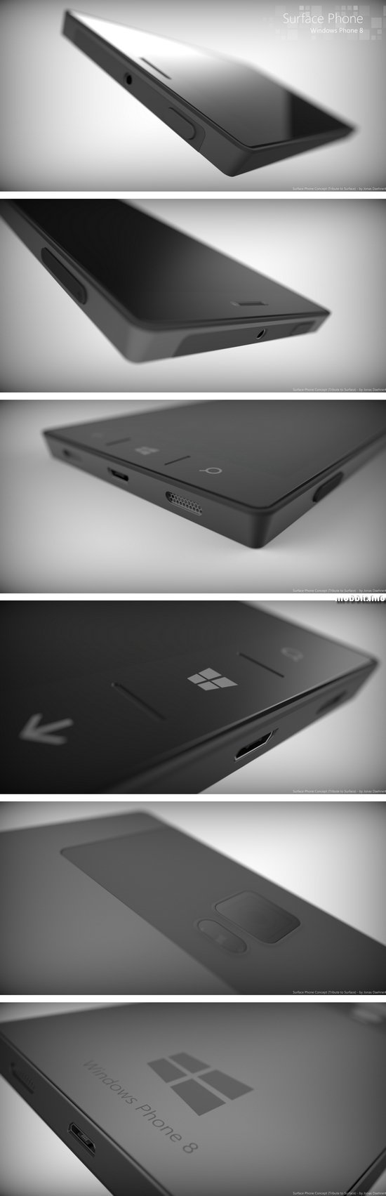 Концептуальный смартфон Microsoft Surface