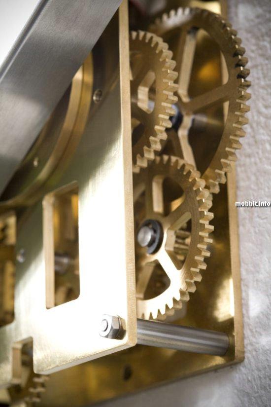 часы, меняющие форму