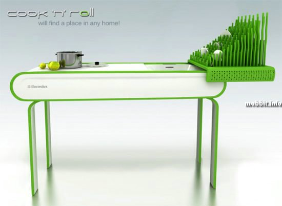 Кухонный стол «все-в-одном»