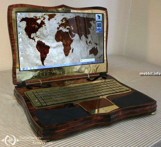 Шикарный стимпанк-лэптоп от моддера Datamancer