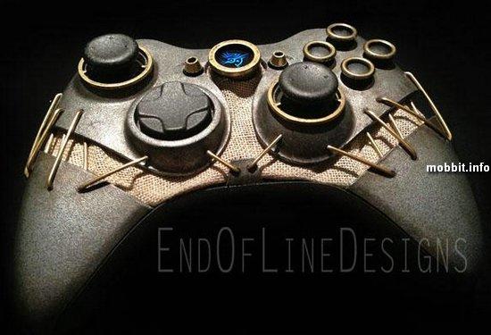 Моддинг: консоль Xbox 360 в стиле игры Dishonored