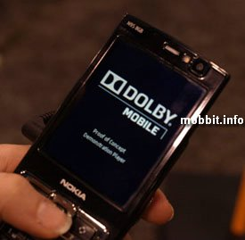 Dolby surround sound Nokia N95