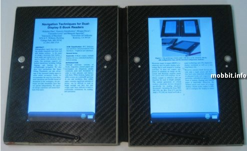 dual page ebook
