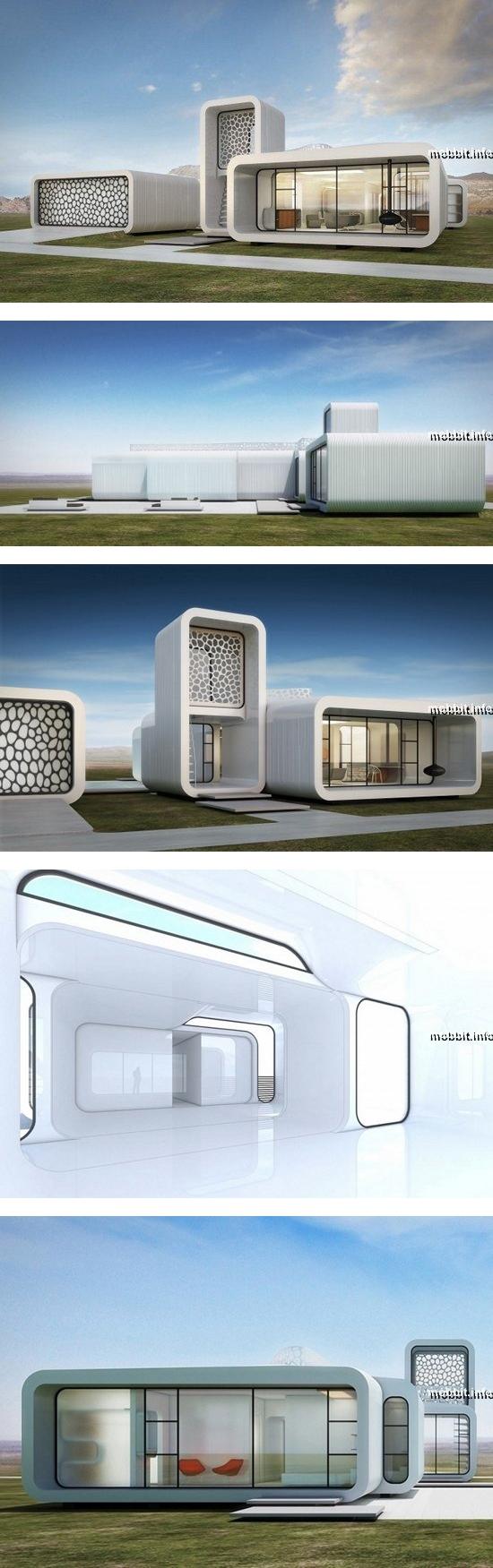 Первое офисное здание, созданное методом 3D-печати