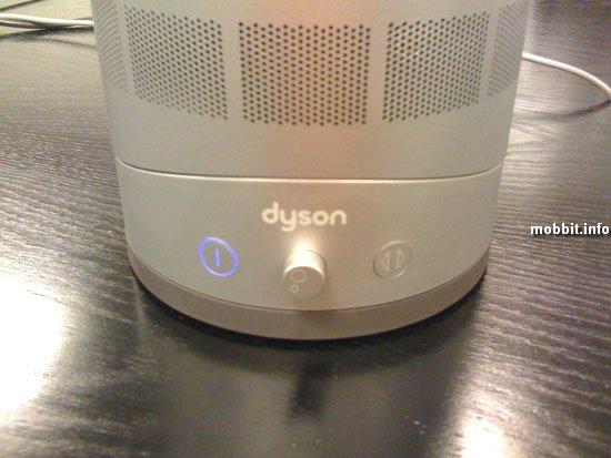Безлопастной вентилятор Dyson