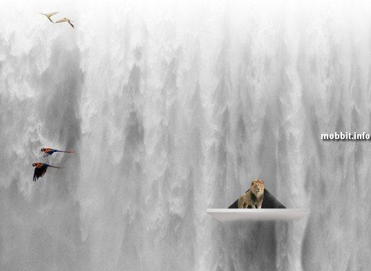 «Эдемский водопад»