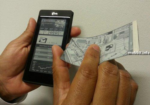 Прототипы двухсторонних смартфонов с экранами E Ink