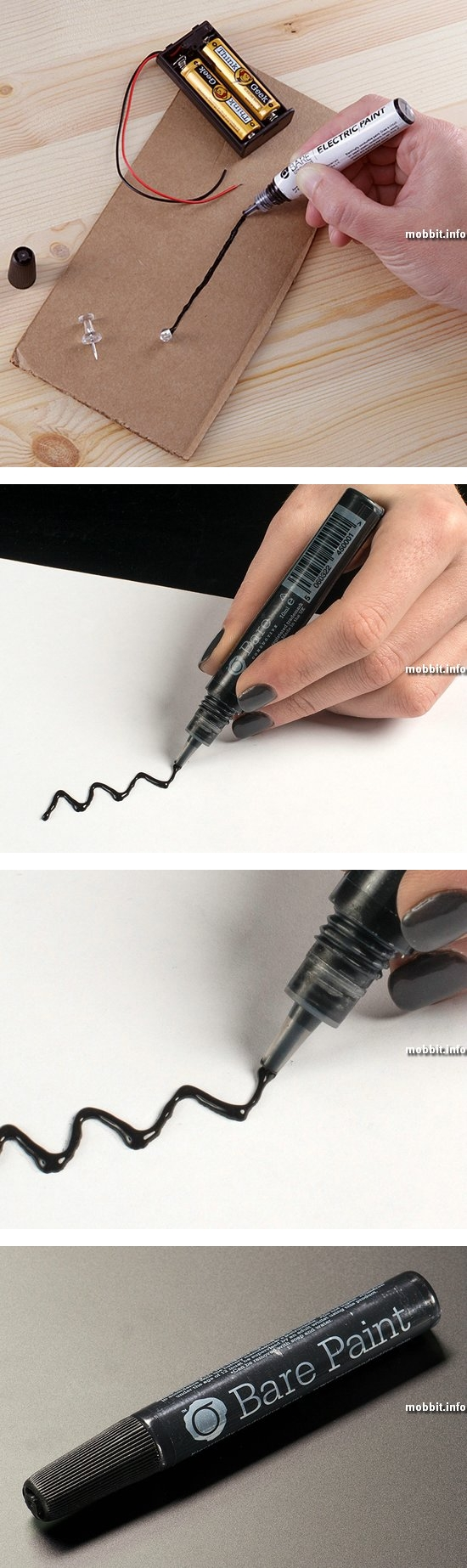 Electric Paint Pen