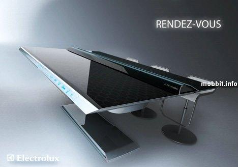 Интерактивный кухонный стол