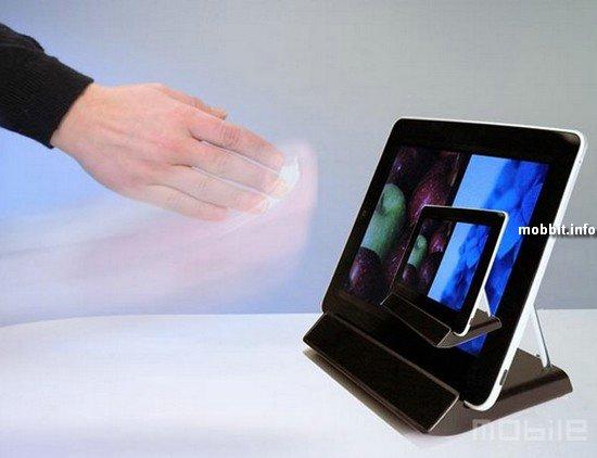 Бесконтактный интерфейс для iPad'а