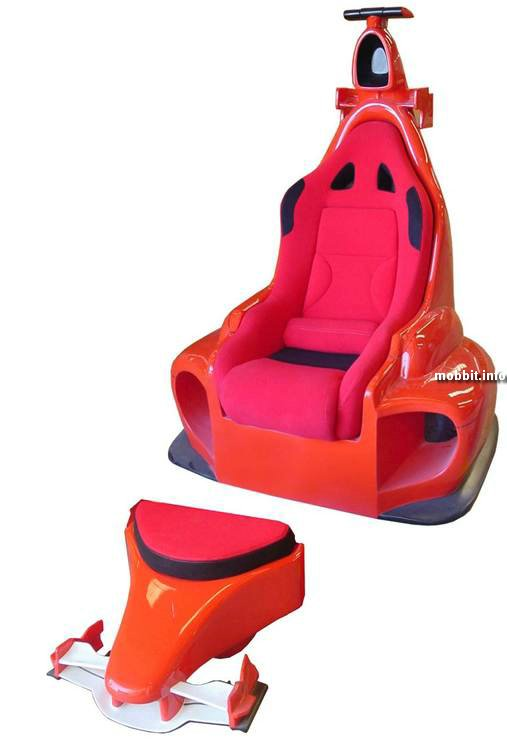 Кресло в стиле Ferrari F1