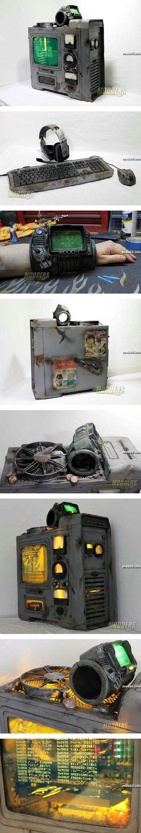 Компьютерный корпус в стиле Fallout 3