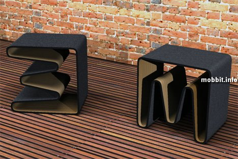 Книжная полка = стул = стол