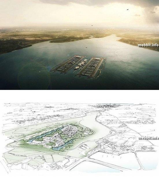 Самый большой в мире плавающий аэропорт