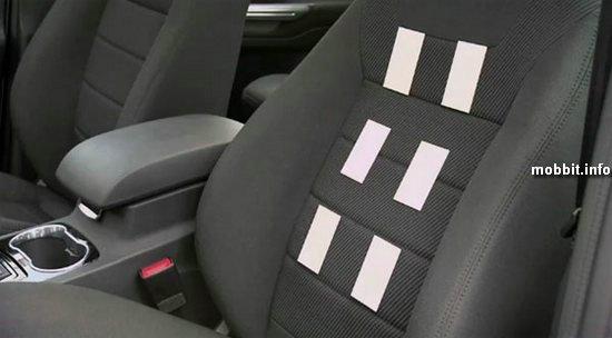 Автомобильные сиденья с сенсорами сердцебиения