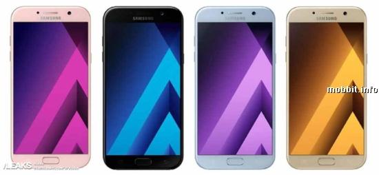 Galaxy A5 and Galaxy A3 2017