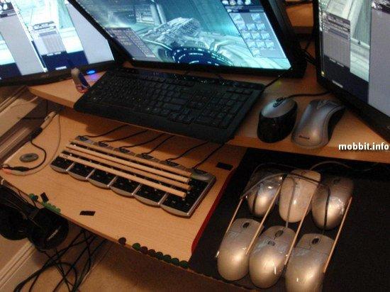 Сумасшедшая геймерская система игрока MMORPG