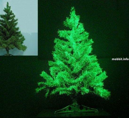 светящая елка